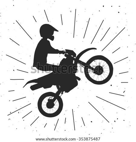 endure bike hand drawn