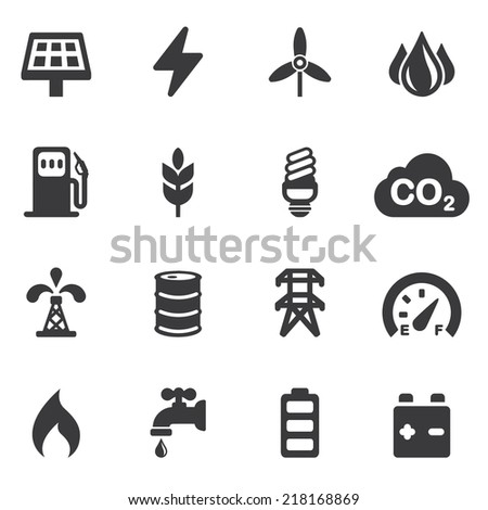 energy and industry silhouette