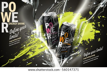 energy drink contained in two