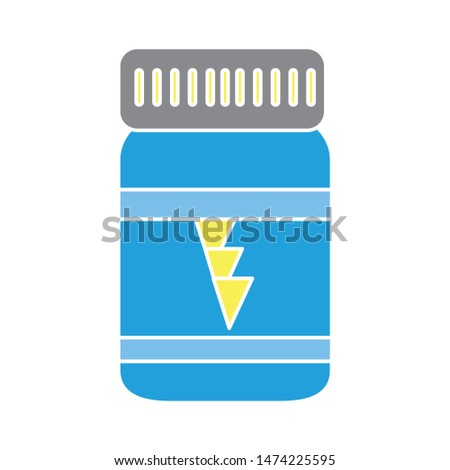 Energy drink icon. flat illustration of Energy drink vector icon. Energy drink sign symbol