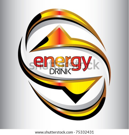 energy drink label