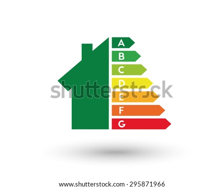 Energy efficiency and home improvement concept. Eps10 vector illustration.