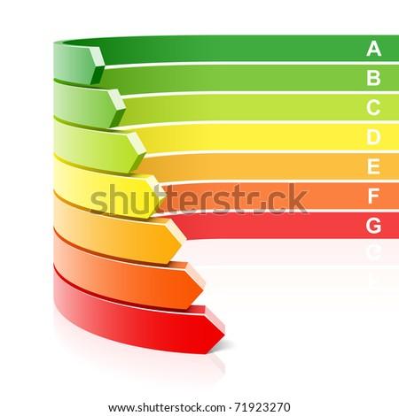 Energy efficiency concept. Vector.