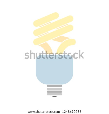 energy saver icon - Energy Saver Colored Vector Illustration. energy light