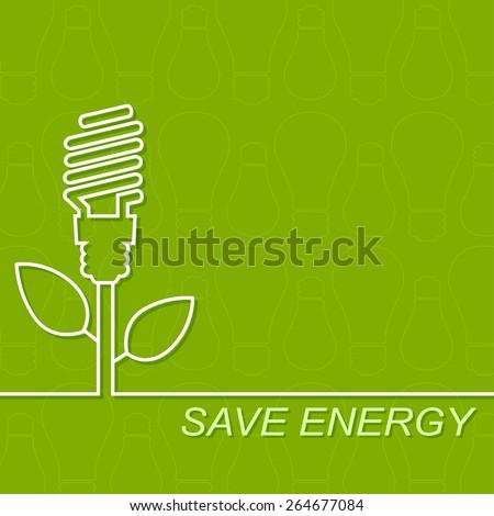 energy saving fluorescent light
