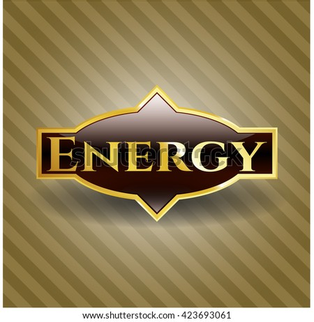 Energy shiny emblem