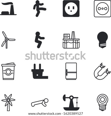 energy vector icon set such as: drink, cool, factory, shine, restaurant, liquid, engineering, latte, education, station, wing, sustainability, dutch, coffee, cold, landscape, caffeine, saving