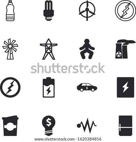 energy vector icon set such as: panel, workout, level, fuel, man, cool, boiler, disposable, engineering, takeaway, mug, decorative, caffeine, flask, colorl, cafe, full, lineman, cooling, sweet