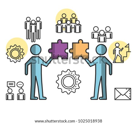 engage business set icons