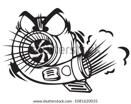 Engine Turbo Vector