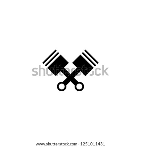engine vector icon. engine sign on white background. engine icon for web and app