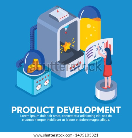 Engineer team at project development, template for developer. App development and startup concept. Launch a new product on a market. Coding develop, programmer at computer or workstation for business.