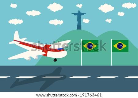 england air plane arrival