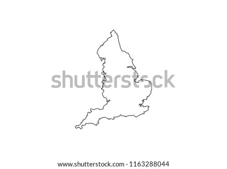 Map Of England Drawing.British Isles Vector Map Download Free Vector Art Stock Graphics