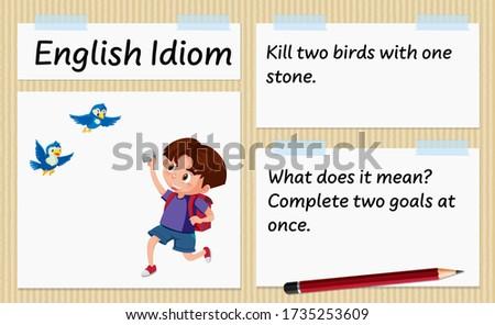 english idiom kill two birds