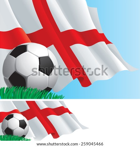 english soccer vector