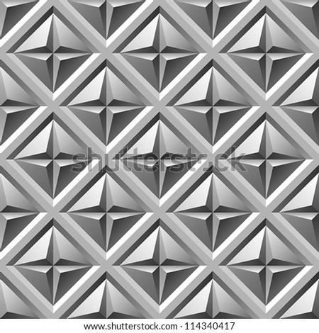 engraved metal seamless pattern