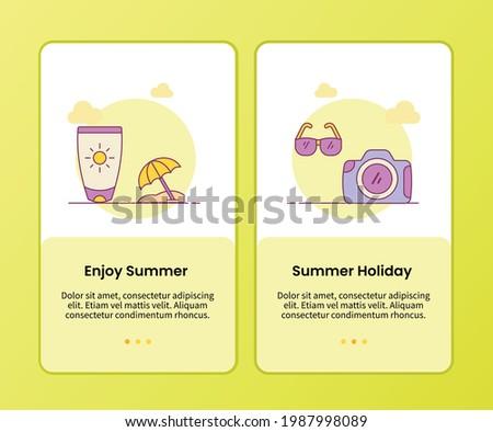 enjoy summer summer holiday