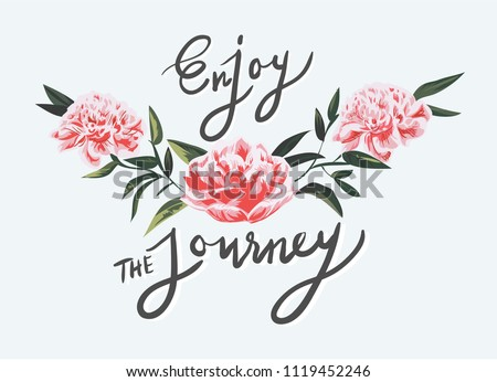 enjoy the journey slogan with