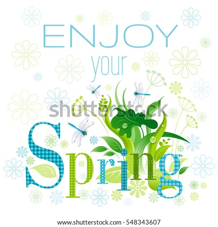 enjoy your spring text