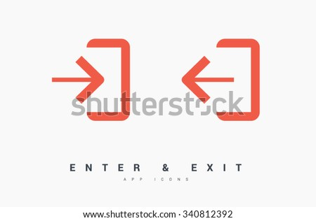 enter  exit set of isolated