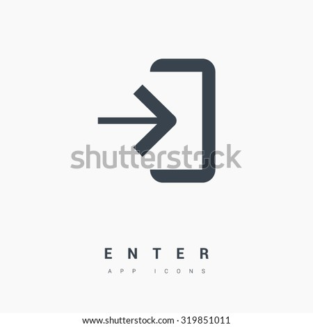 enter isolated minimal single