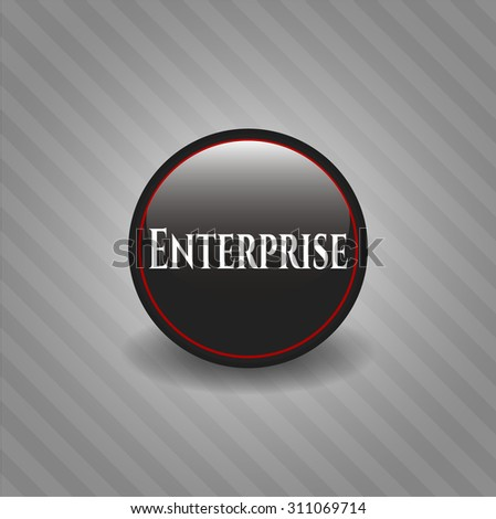 Enterprise dark badge