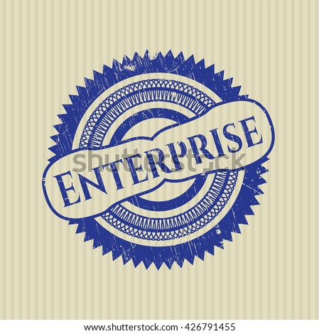 Enterprise grunge seal