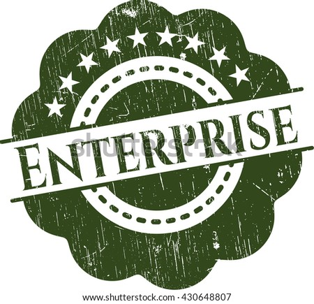 Enterprise rubber grunge seal