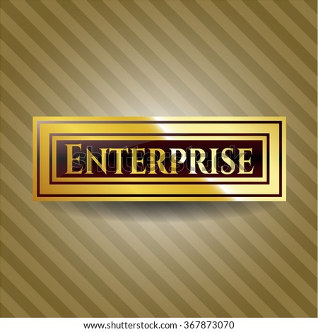 Enterprise shiny badge