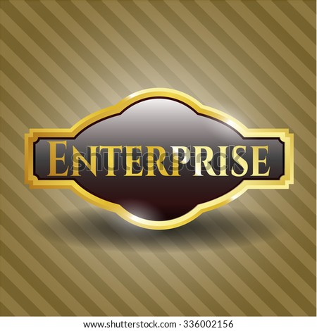 Enterprise shiny emblem