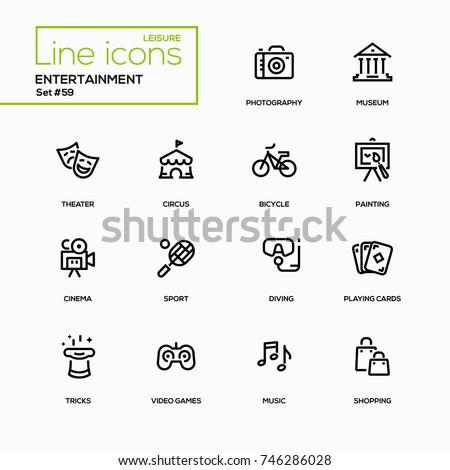 entertainment   line design