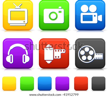 Entertainment technology button set