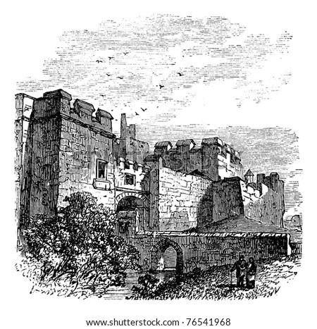 entrance of the castle carlisle