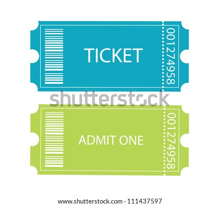Entrance tickets.