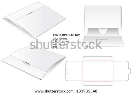 envelope bag for business documents Foto d'archivio ©