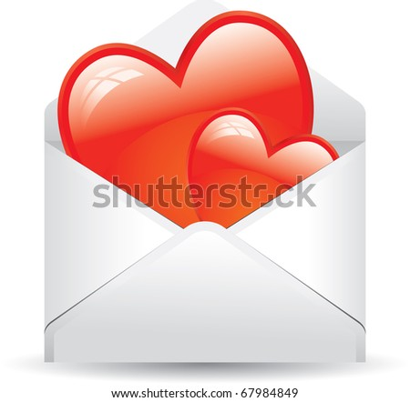 envelope full of love