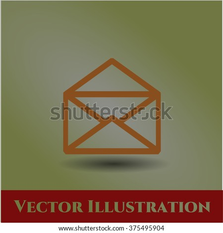 Envelope high quality icon