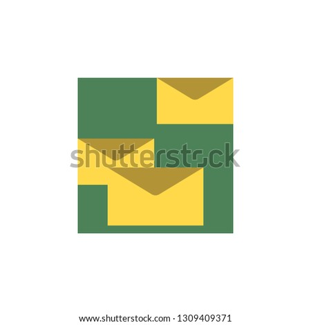 Envelope icon. Element of Comunication icon for mobile concept and web apps. Detailed Envelope icon can be used for web and mobile