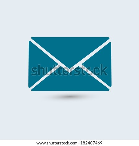 envelope mail icon  vector...