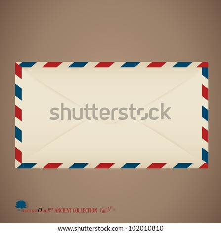 Envelope. Vector Illustration