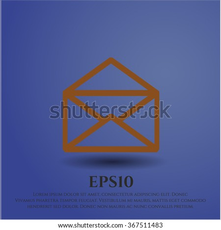 Envelope vector symbol