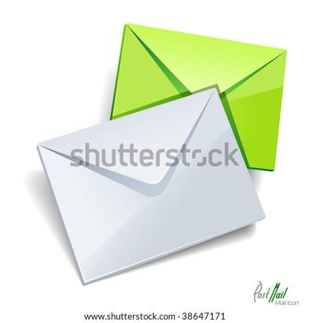 Envelops icon isolated. Vector illustration.