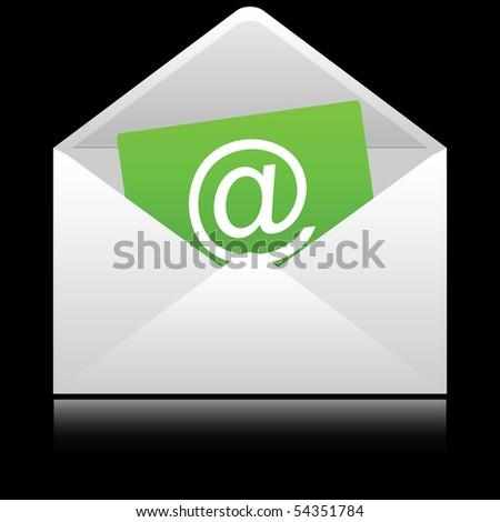 Envelops icon. Vector illustration. - stock vector