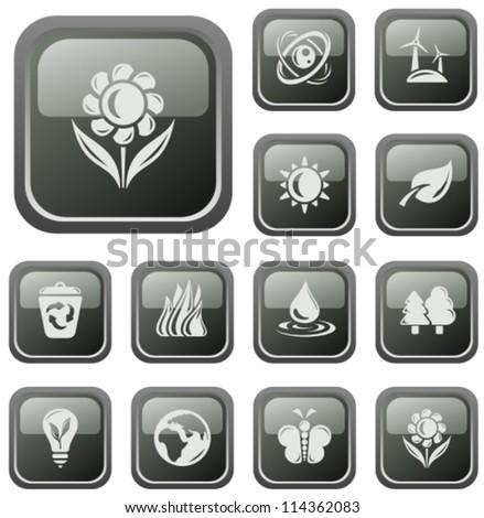 Environment button set