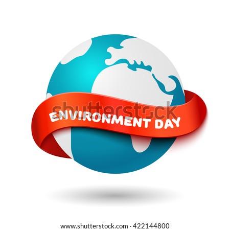 environment day concept big