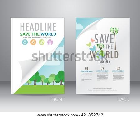 environment ecology brochure