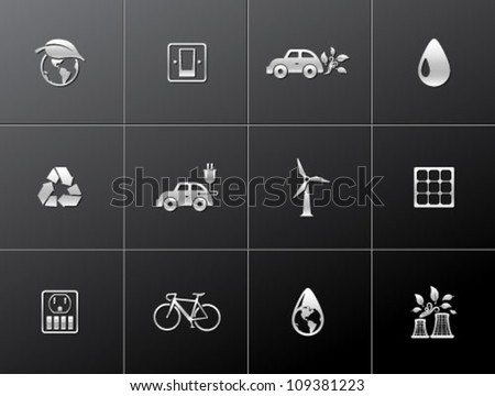 environment  icon series in