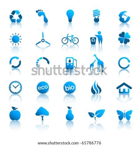 Environment icons set 2