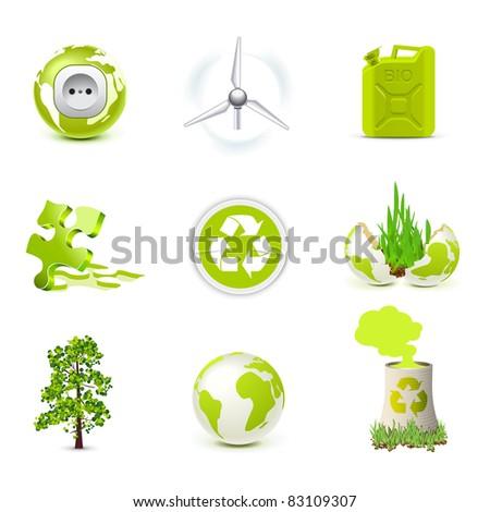 Environmental icons | Bella series